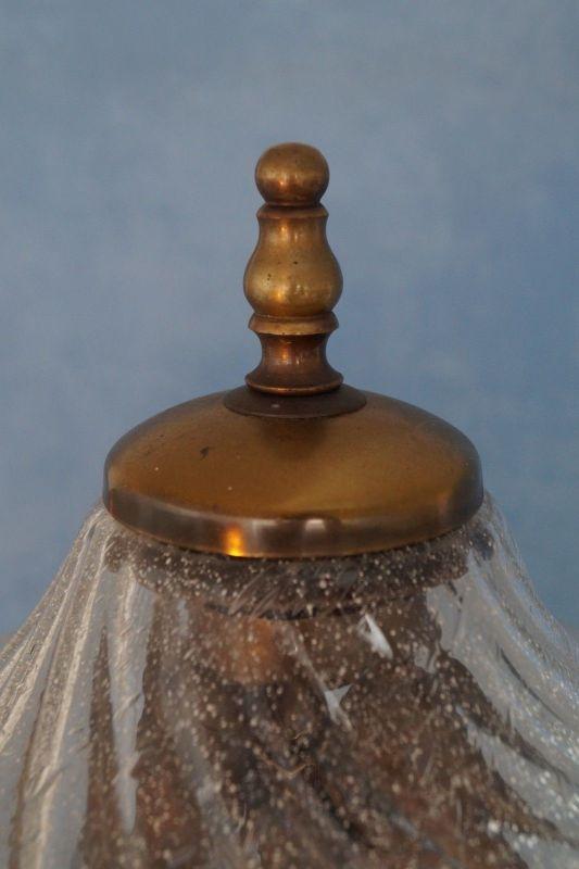 Sehr elegante original Jugendstil Landhaus Stehleuchte Stehlampe 1920 Messing 5