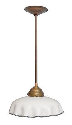 Schöne original Jugendstil Küchenlampe Deckanlampe Hängeleuchte 1920