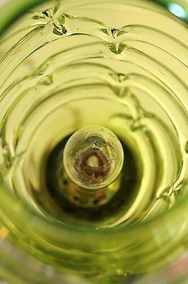 Absolut einzigartige Jugendstil Glas Tischleuchte mundgeblasen Schreibtischlampe 11