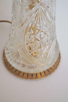 Absolut einzigartige Jugendstil Glas Tischleuchte mundgeblasen Schreibtischlampe 6