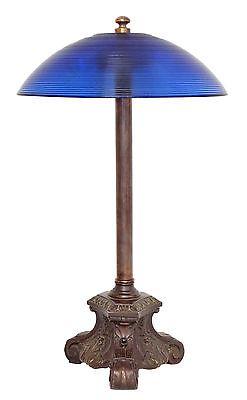 Garantiertes Einzelstück original Jugendstil Salon Künstler Tischlampe 1920