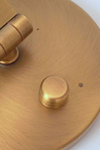 Orig. Hillebrand 80er Retro Schreibtisch Design Schreibtischleuchte Arztlampe 6