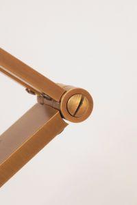 Orig. Hillebrand 80er Retro Schreibtisch Design Schreibtischleuchte Arztlampe 7