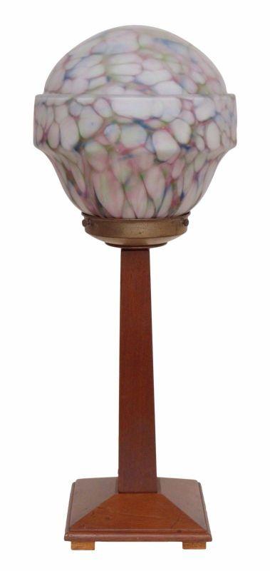Sehr elegante original Art Deco Schreibtischlampe