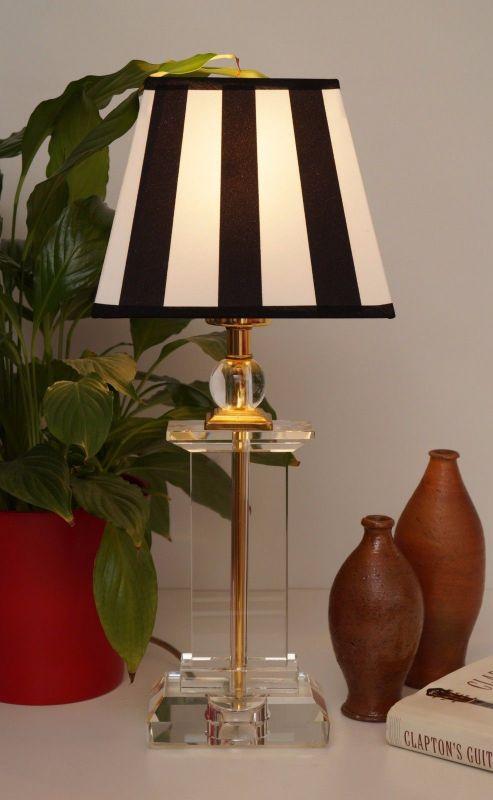 Tolle Retro Acrylglas Salonlampe Tischlampe 80er Jahre 2 Stück erhältlich 1