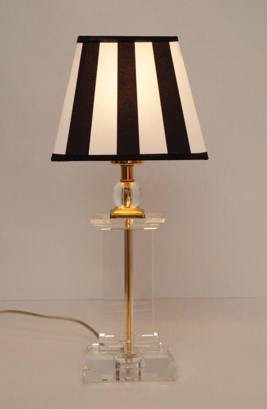 Tolle Retro Acrylglas Salonlampe Tischlampe 80er Jahre 2 Stück erhältlich 2
