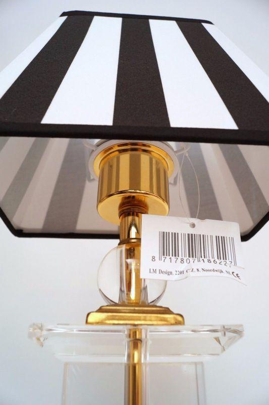 Tolle Retro Acrylglas Salonlampe Tischlampe 80er Jahre 2 Stück erhältlich 5