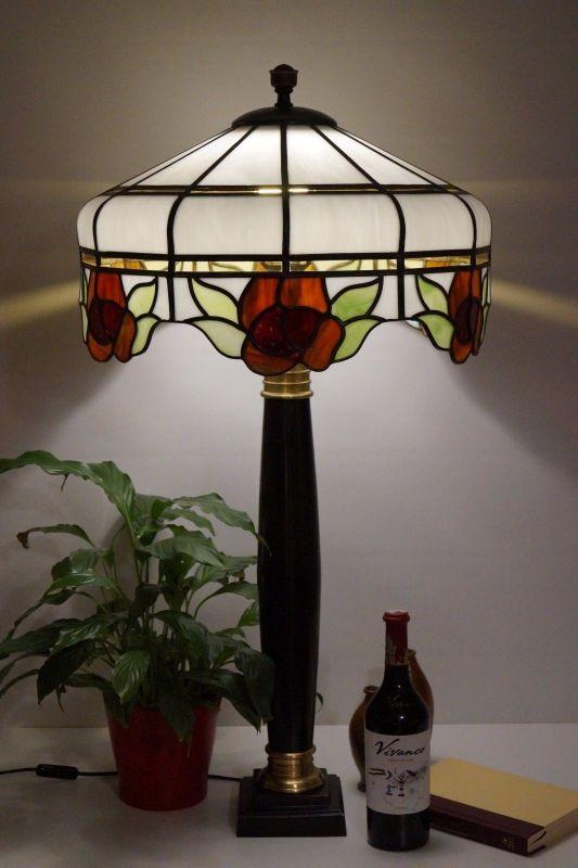 Tiffany Hängelampe sehr guter Zustand 40 cm Haller Leuchten