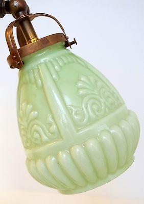 Edle original Jugendstil Nachttisch Klavierleuchte Klavierlampe um 1900 7