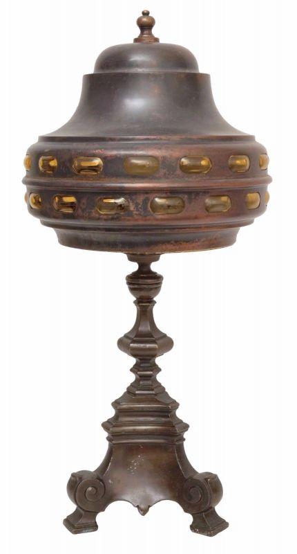 Prächtige original Jugendstil Tischlampe
