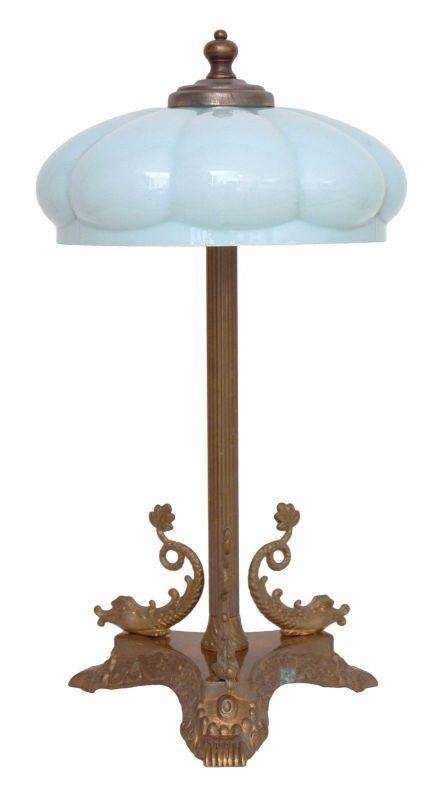 Unikate Jugendstil Tischlampe