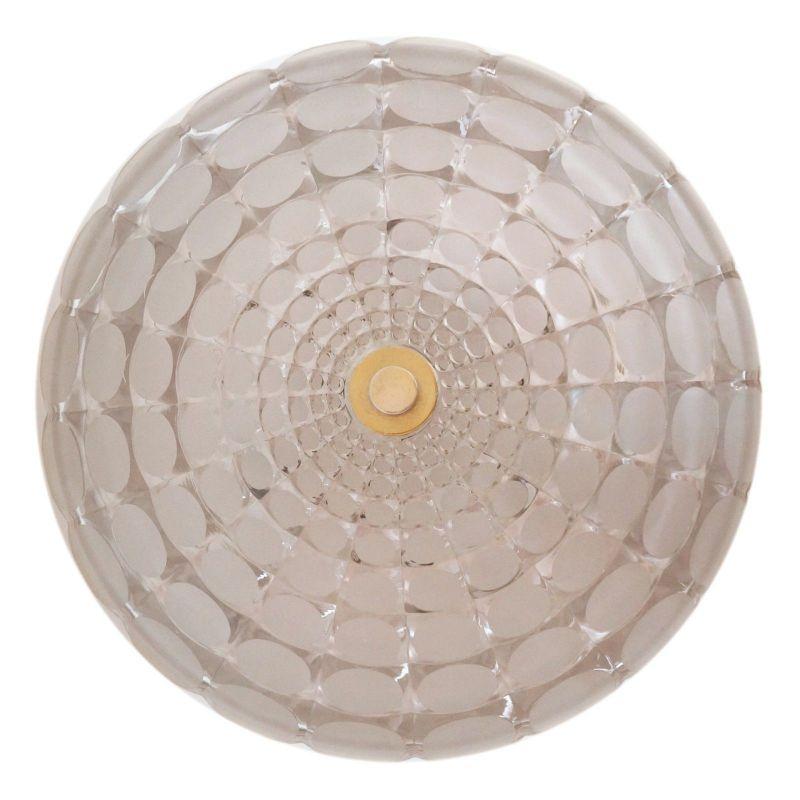 Einmalige original Seventies Design Deckenlampe Wandleuchte Aluminium Retro 40cm