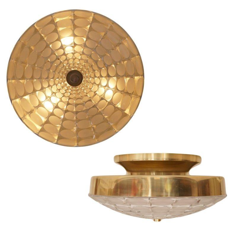 Einmalige original Seventies Design Deckenlampe Wandleuchte Aluminium Retro 40cm 1
