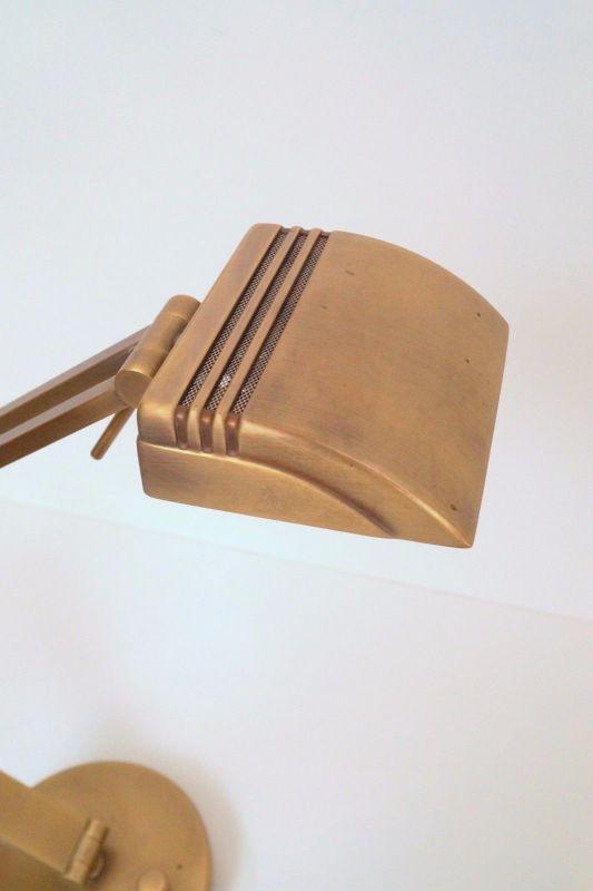 Orig. Hillebrand 80er Retro Schreibtisch Design Schreibtischleuchte Arztlampe 4
