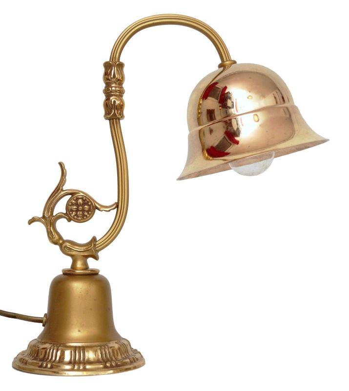 Sehr niedliche Messing Jugendstil Nachttischlampe Tischleuchte Lampe Leuchte