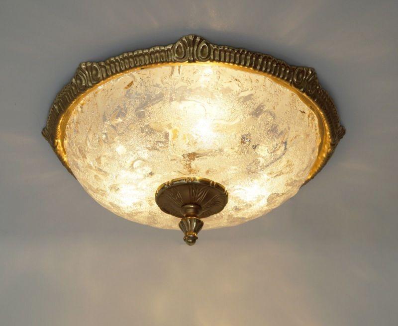 Deckenlampe Jugendstil Plafoniere : Edle jugendstil plafoniere deckenlampe wandleuchte plafonier