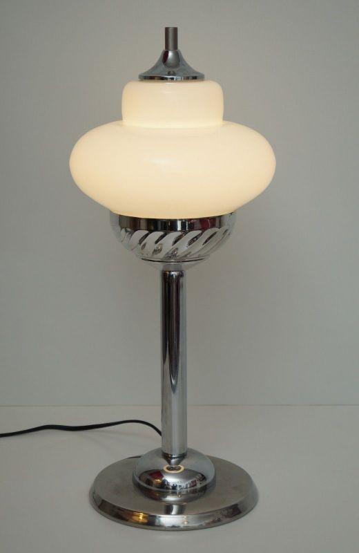 Unikat Bauhaus Design Tischlampe