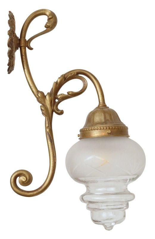 Wunderschöne original Jugendstil Wandlampe Wandleuchte 1910