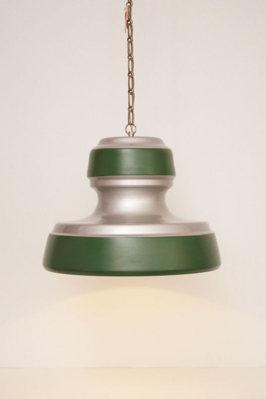 Original 70er Retro Industrieleuchte Lampe Aluminium neu (!!) Fabriklampe
