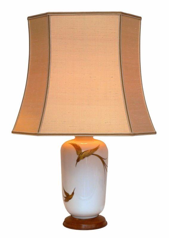 Riesige Keramik Landhaus Tischlampe