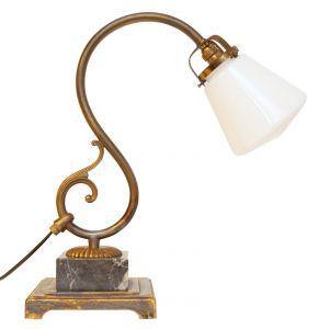 Sehr elegante original Art Deco Schreibtischlampe Kontor Leuchte 1930