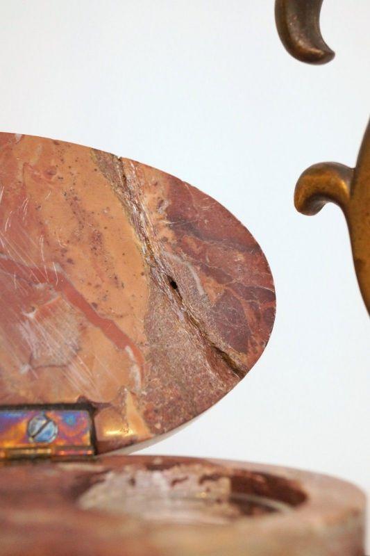 Bankerleuchte Einzigartige original Jugendstil Schreibtischleuchte um 1920 Lampe 8