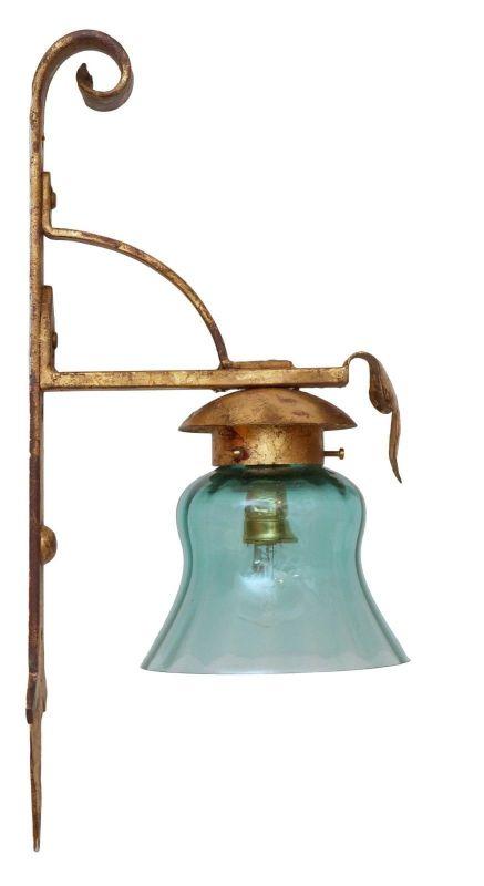Wunderschöne Jugendstil Wandleuchte Wandlampe Leseleuchte Unikat