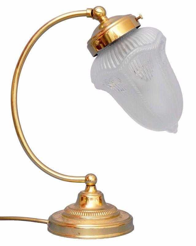 Tolle Jugendstil Schreibtischlampe Messinglampen Berlin Tischleuchte Messing