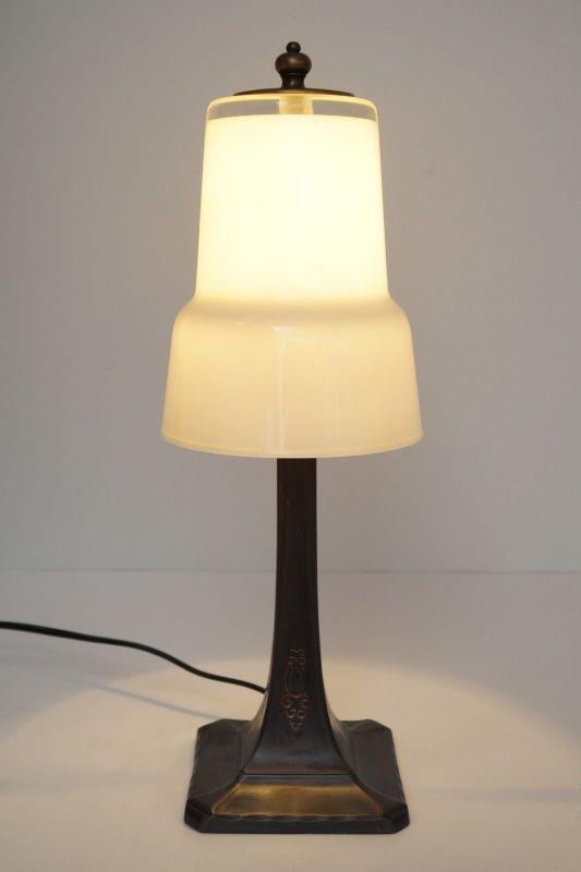 Klassische original Design Art Déco Tischleuchte Tischlampe Lampe 1930