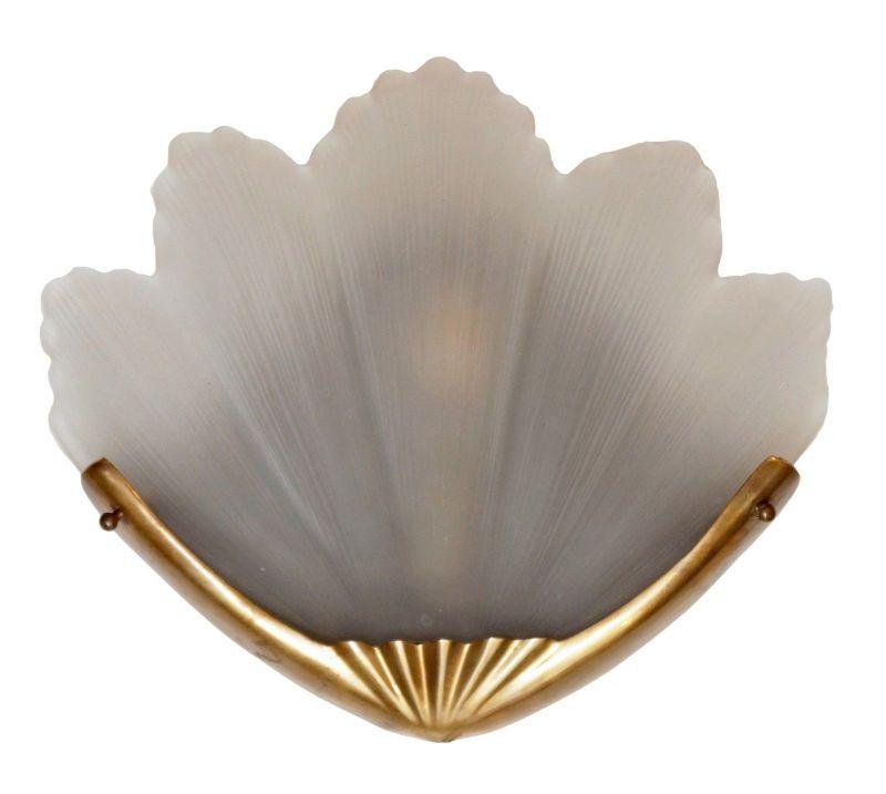 Sehr edle original Art Déco Wandleuchte Wandlampe Art Nouveau