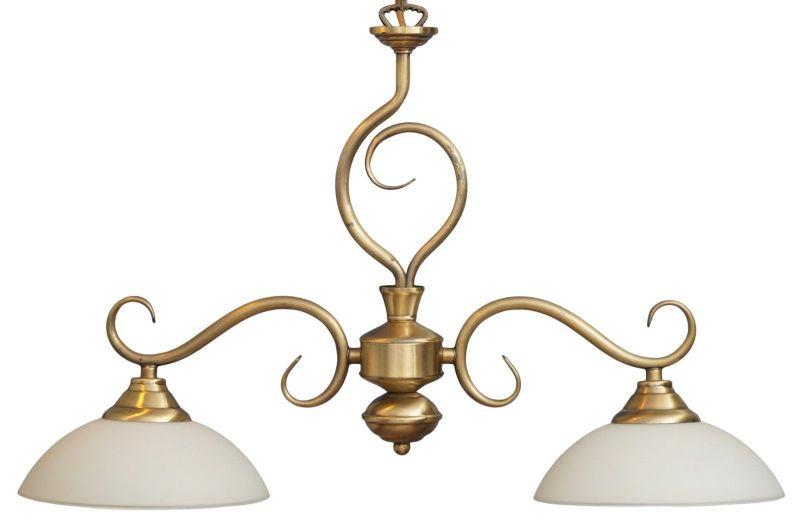 Sehr elegante Landhaus Hängeleuchte Messing Deckenlampe ANGEBOT!!