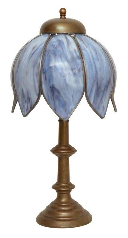 Unikate Jugendstil Tiffany Tischlampe Schreibtischlampe