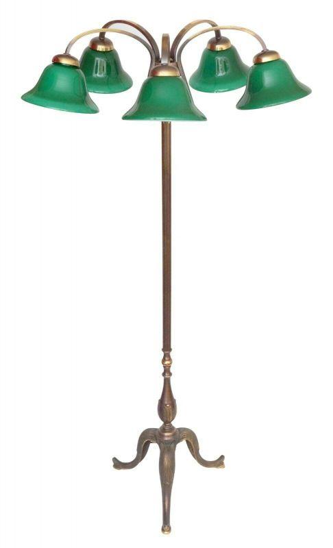 Original Jugendstil Art Deco Stehlampe