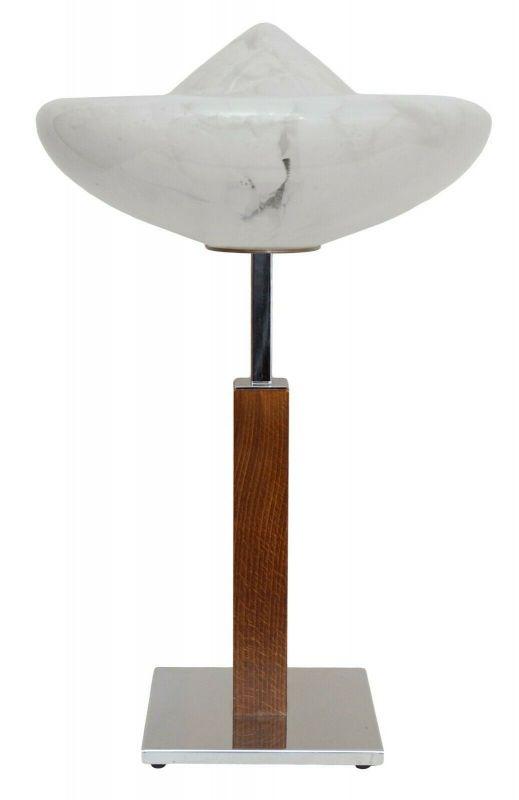 Design Unikat Bauhaus Art Deco Tischlampe Schreibtisch Chrom