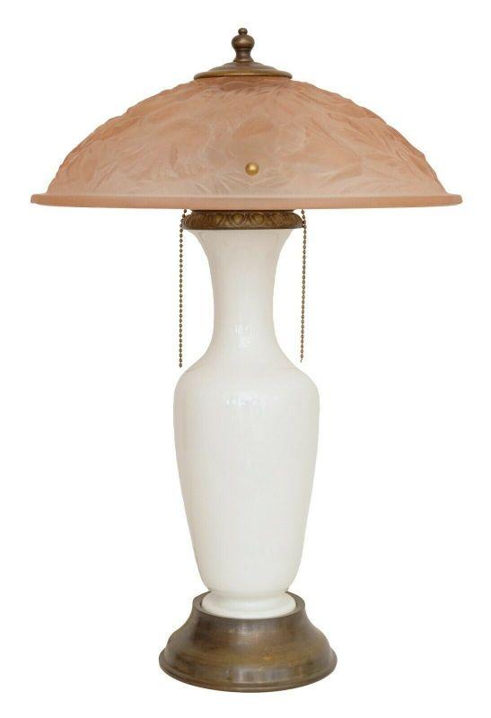 Unikate original Jugendstil Design Tischlampe Schreibtischleuchte Lampe Keramik