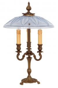 Unikat antike Bouilotte Tischlampe einzigartig Lampe Leuchte 1920