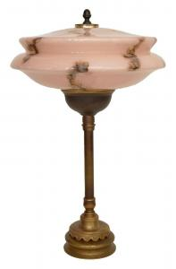 Original Art Deco Lampe 1940