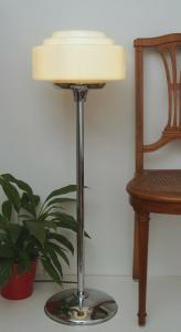 Unikat Design Art Déco Bauhaus Stehlampe Bodenleuchte Flurlampe 90 cm
