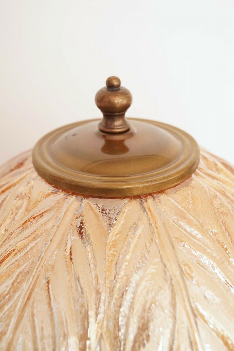 Prachtvolle original Jugendstil Schreibtischlampe Salon Tischlampe 73 cm 1920 6