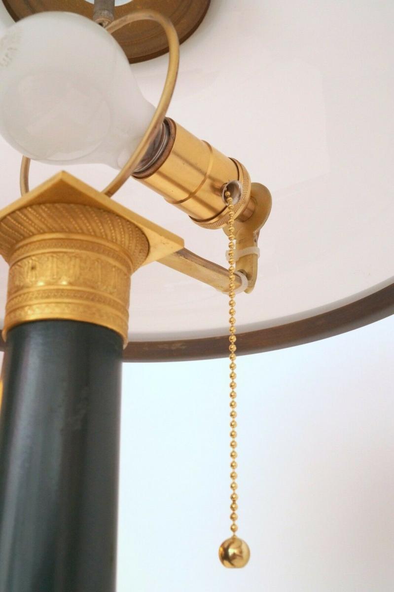 Garantiertes Unikat prachtvolle Jugendstil Lampe Schreibtischleuchte 65 cm Salon 5
