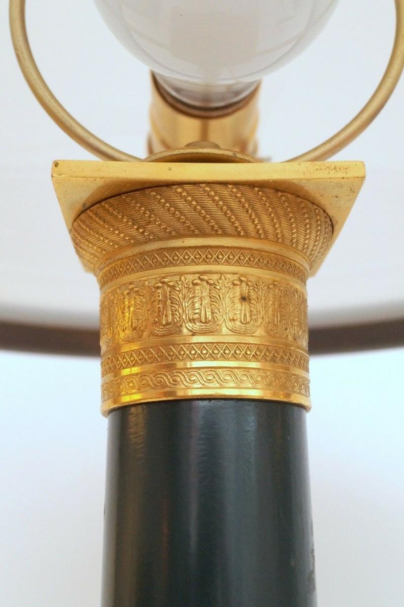 Garantiertes Unikat prachtvolle Jugendstil Lampe Schreibtischleuchte 65 cm Salon 6