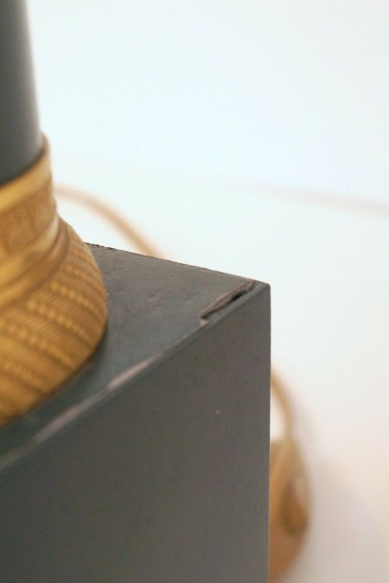 Garantiertes Unikat prachtvolle Jugendstil Lampe Schreibtischleuchte 65 cm Salon 8