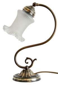Tolle original Jugendstil Nachttischlampe Landhaus 1920