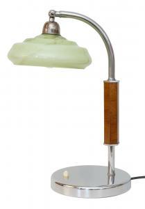 Original Art Déco Design Tischlampe Chrom Bauhaus Gropius 1920 Lampe Leuchte