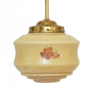 Wunderschöne original Jugendstil Hängelampe Deckenlampe um 1930
