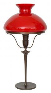 Art Déco Petroleumlampe Tischleuchte 1920 Jugendstil