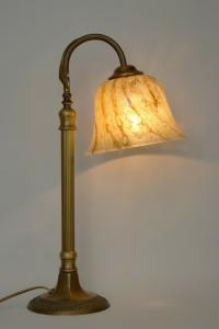 Klassische Jugendstil Kontorlampe Arbeitlampe Tischlampe Messinglampe Berlin