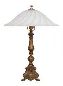 Sehr schwere original Jugendstil Schreibtischlampe Salon Tischlampe Leuchte 1920