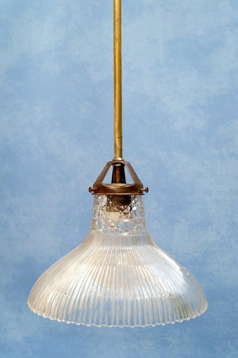 Wunderschöne orig. Jugendstil Deckenlampe Deckenleuchte Hängelampe Shabby 1920 1