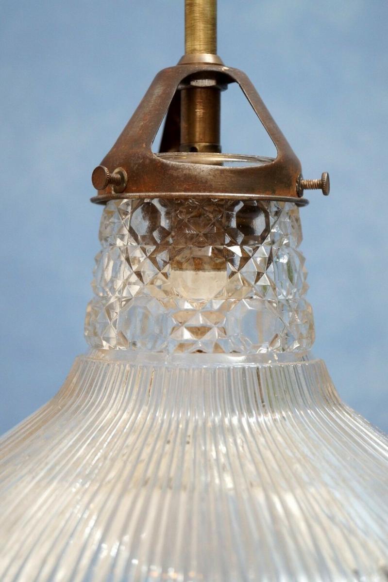 Wunderschöne orig. Jugendstil Deckenlampe Deckenleuchte Hängelampe Shabby 1920 2